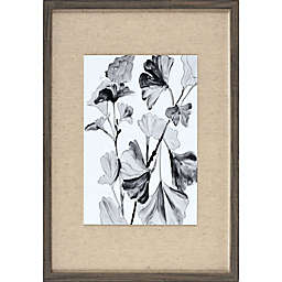 Blossom Under Glass 16.8-Inch x 22.8-Inch Framed Wall Art