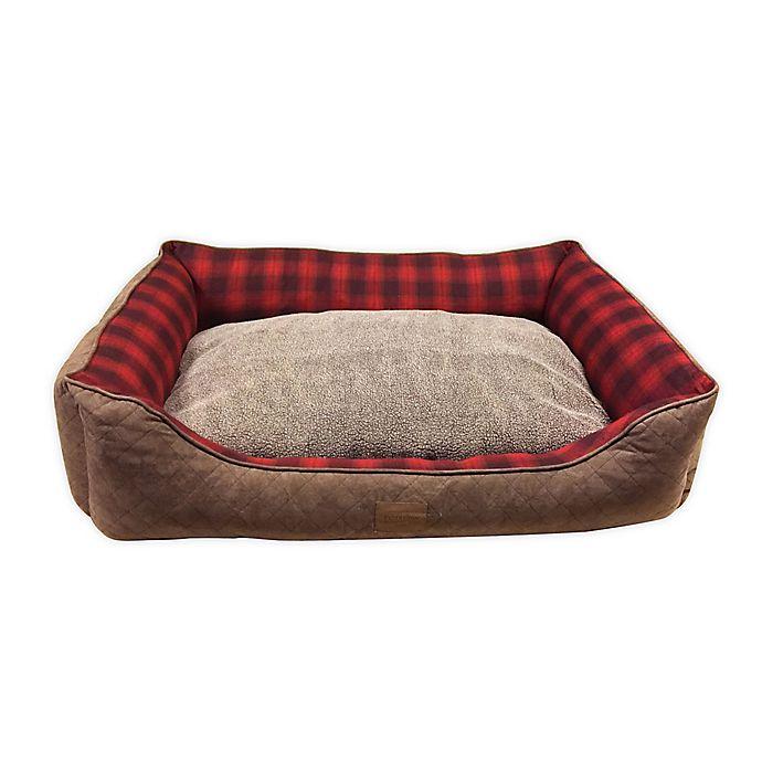 Alternate image 1 for PENDLETON Woolen Mills Polyester Vintage Dog Bed in Red