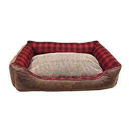 PENDLETON Woolen Mills Polyester Vintage Dog Bed in Red