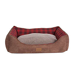 PENDLETON Woolen Mills Large Polyester Vintage Dog Bed in Red