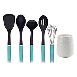 KitchenAid® 6-Piece Kitchen Tool and Gadget Set in Aqua