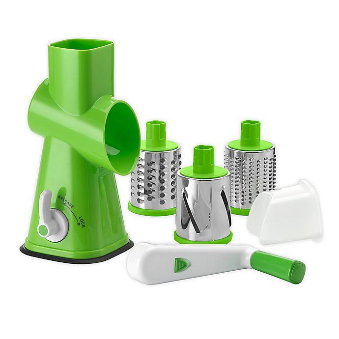 Alternate image 1 for Cuisinart® Plastic Grater in Green/White
