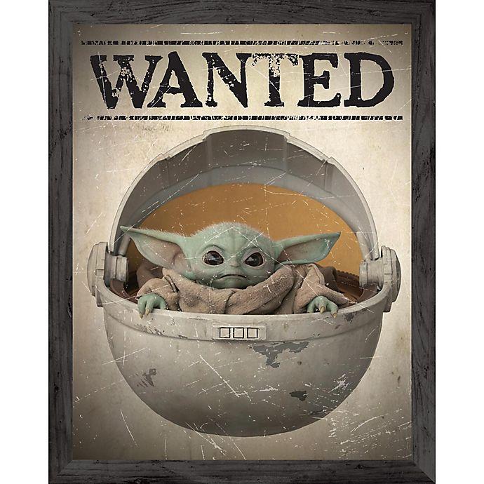 Star Wars™ The Mandalorian Wanted Baby Yoda 16-Inch x 20 ...