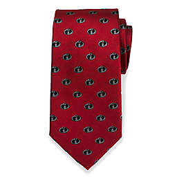 Disney® The Incredibles Logo Men's Necktie in Red