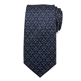 Star Wars™ Darth Vader Diamond Dot Men's Necktie in Navy