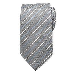 Star Wars™ Darth Vader Modern Stripe Men's Necktie in Grey