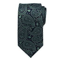 Star Wars™ Yoda Paisley Men's Necktie in Green