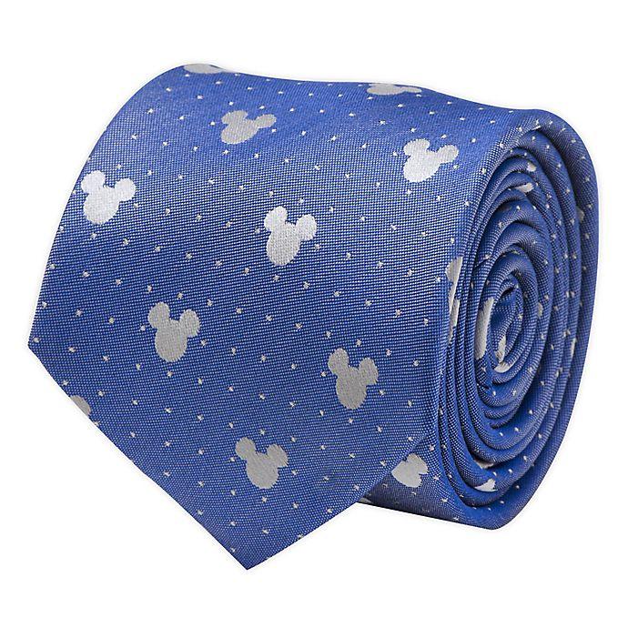 Alternate image 1 for Disney® Mickey Mouse Pin Dot Men's Necktie