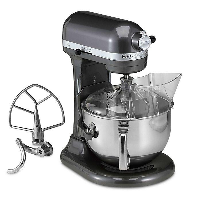 Alternate image 1 for KitchenAid® Professional 600™ Series 6-Quart Bowl Lift Stand Mixer in Pearl Metallic