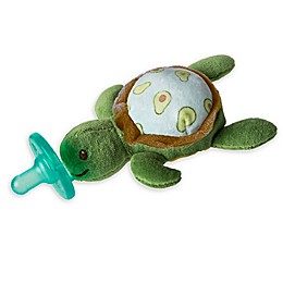 Mary Meyer® WubbaNub™ 0-6M Avocado Turtle Pacifier in Green