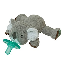 Mary Meyer® WubbaNub™ 0-6M Koala Pacifier in Grey