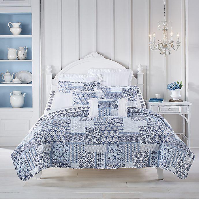 Tessa 3 Piece Quilt Set In Navy Bed Bath Beyond