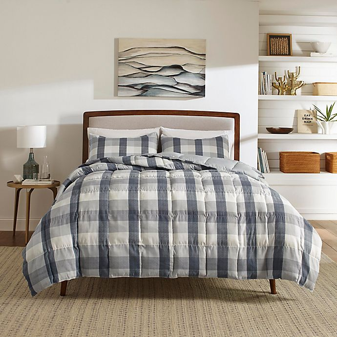 Alternate image 1 for Nautica® Portsmouth Full/Queen Comforter Set in Grey