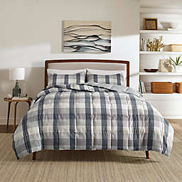 Nautica® Portsmouth King Comforter Set in Grey