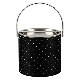Kraftware™ Nova Ebonite 3 qt. Ice Bucket with Metal Lid