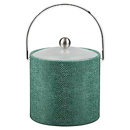 Kraftware™ Exotic Peacock 3 qt. Ice Bucket with Acrylic Lid