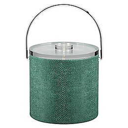 Kraftware™ Exotic Peacock 3 qt. Ice Bucket with Luctie Lid