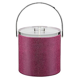 Kraftware™ Exotic Plum 3 qt. Ice Bucket with Lucite Lid