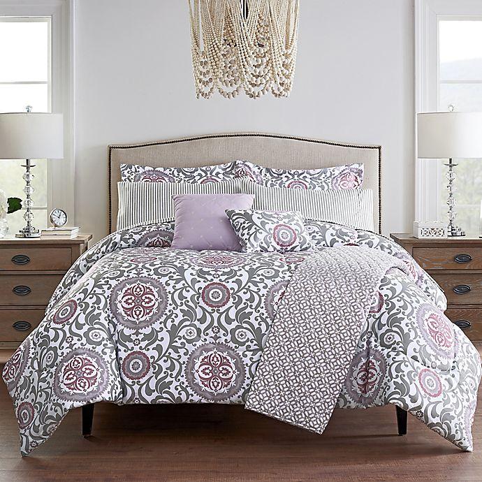 Alternate image 1 for Waverly® Medallion 10-Piece Comforter Set