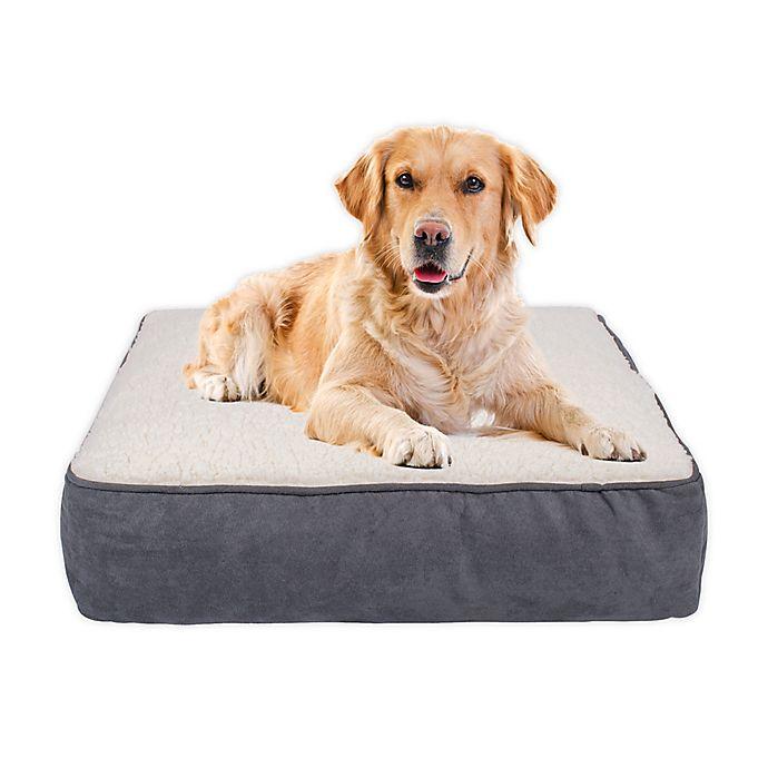 Alternate image 1 for Shreaded Memory Foam Large Dog Bed