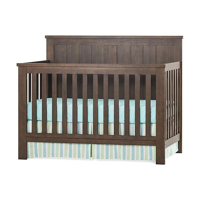Alternate image 1 for Child Craft™ Forever Eclectic™ Calder 4-in-1 Convertible Crib in Brown Truffle