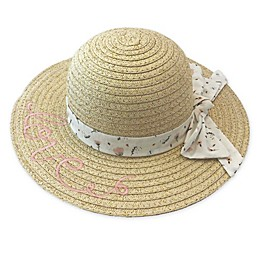 Toby Fairy™ Love Straw Sun Hat in White