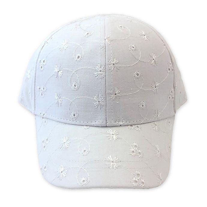 Alternate image 1 for Toby Fairy™ Eyelet Baseball Cap in Ivory