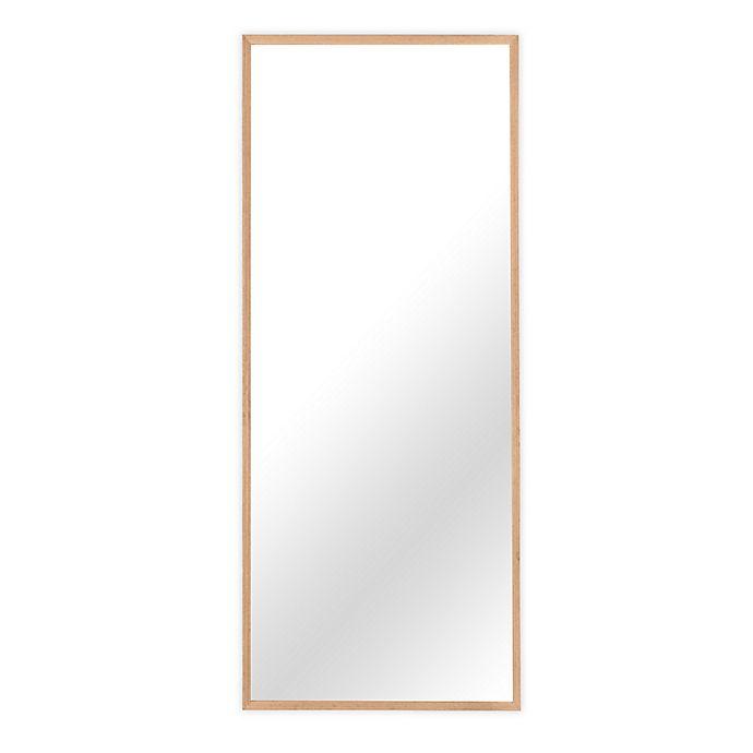 Alternate image 1 for 21-Inch x 65-Inch Wood Full Length Floor Mirror