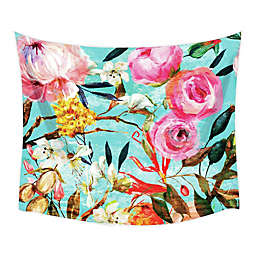 RoomMates® Floral Oil Paint 52-Inch x 60-Inch Large Tapestry