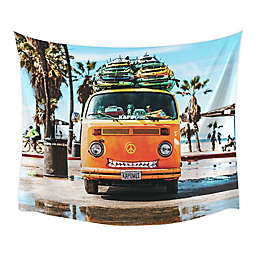 RoomMates® Surf Van 52-Inch x 60-Inch Tapestry in Orange