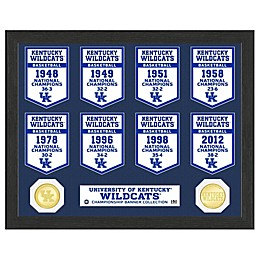 Collegiate National Champ Banners Photo Mint Collection