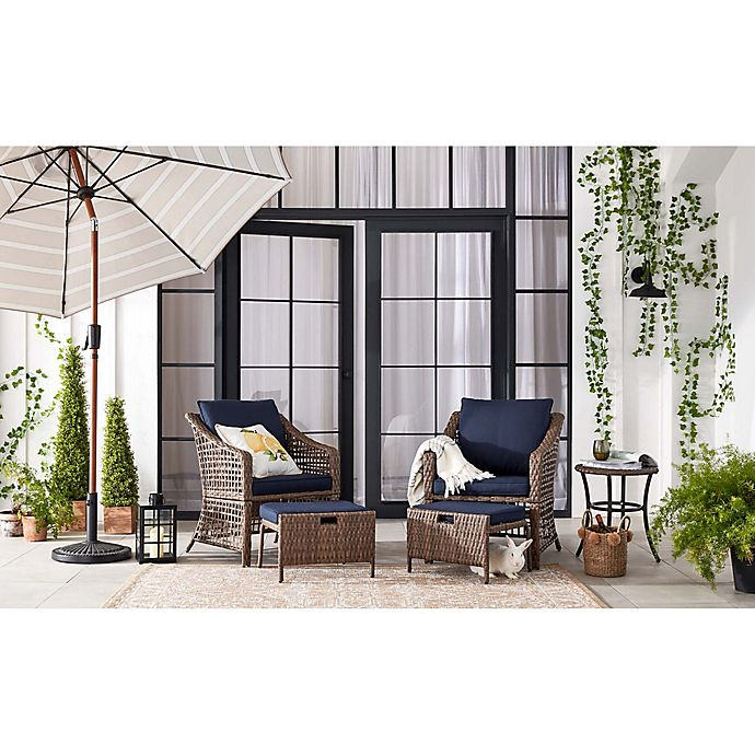 Alternate image 1 for Bee & Willow™ Home All-Weather Wicker Patio Furniture Collection