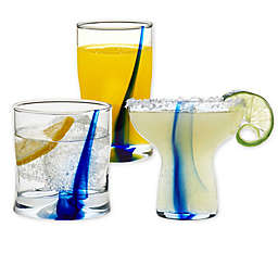Libbey® Glass Blue Impressions Bar Collection