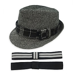 Toby Fairy™ Fedora in Grey