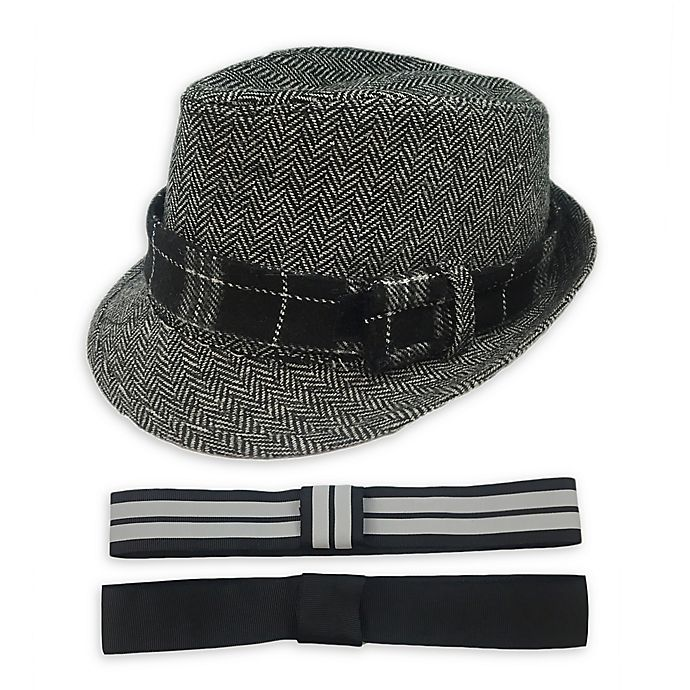 Alternate image 1 for Toby Fairy™ Fedora in Grey