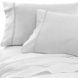 Under The Canopy® Hemstitch 300-Thread-Count Pillowcases (Set of 2)