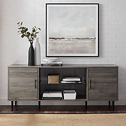 Forest Gate™ Grace 60-Inch TV Console in Slate Grey