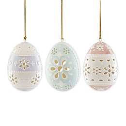 Lenox® Eyelet Easter 3-Piece Ornament Set