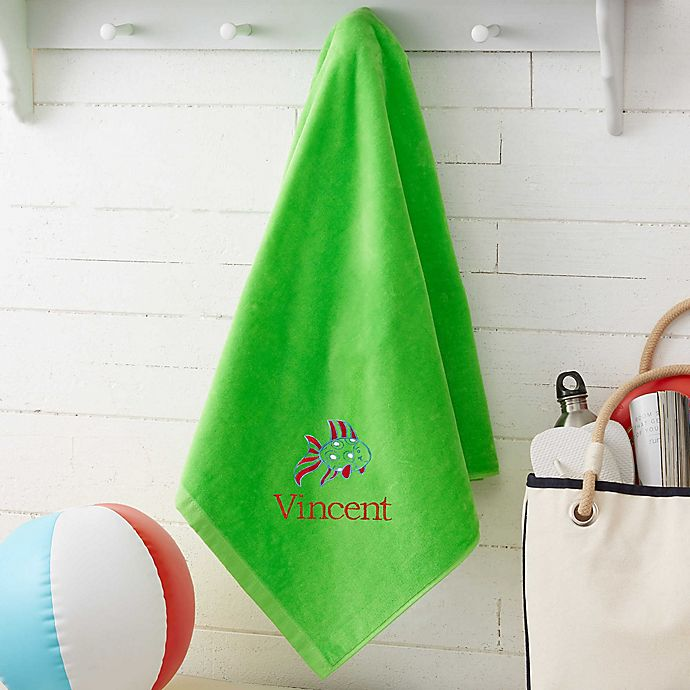 Alternate image 1 for Beach Fun! Personalized Beach Towel