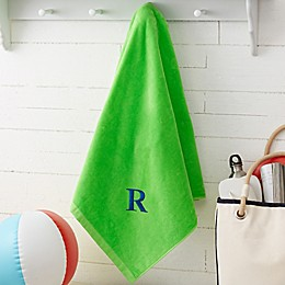 Colorful Personalized Beach Towel
