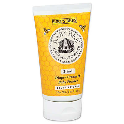 Burt's Bees® Baby Bee® Cream to Powder 2-in-1 4 oz. Diaper Cream and Baby Powder