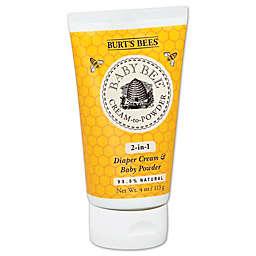 Burt's Bees® Baby Bee® Cream to Powder 2-in-1 4 oz. Diaper Cream and Baby Powder