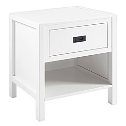 Forest Gate 1-Drawer Solid Wood Nightstand