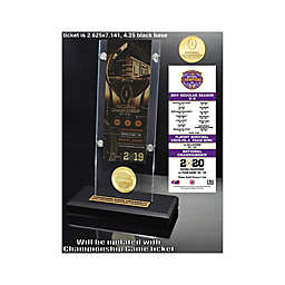 College Football LSU 19 National Champs Ticket Acrylic