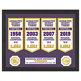College Football LSU Banner Collection