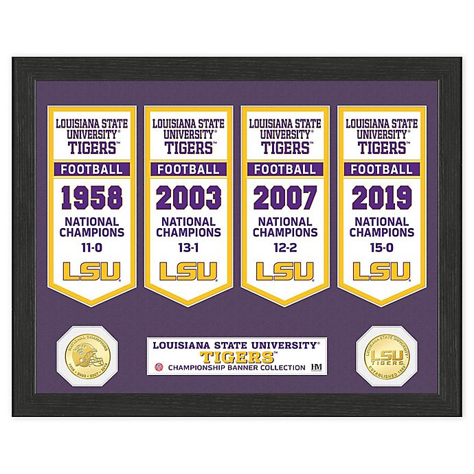 Alternate image 1 for College Football LSU Banner Collection