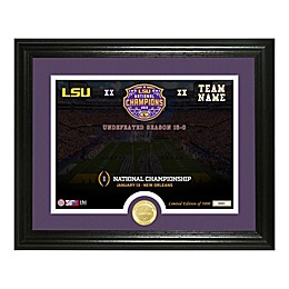 College Football LSU 19 National Champs Photo Frame