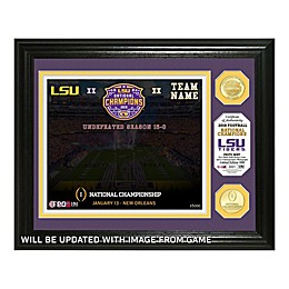 College Football LSU 19 College National Championship Photo