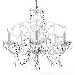 Gallery Venetian Style Crystal 5-Light Chandelier