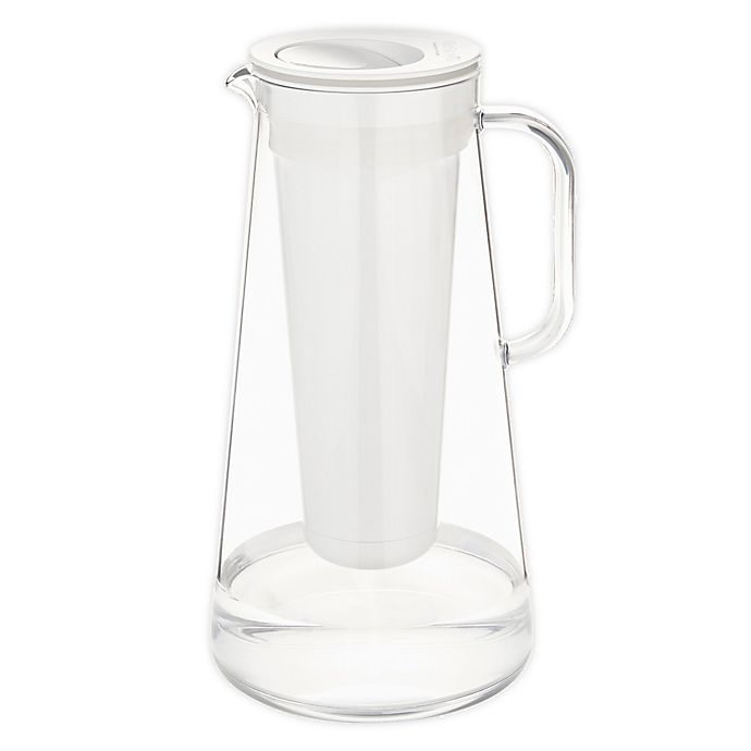 Alternate image 1 for LifeStraw® 7-Cup Home Water Filter Pitcher in White